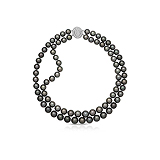 A PEARL AND DIAMOND NECKLACE -    - Auction of Fine Jewels & Watches