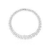 AN EXQUISITE DIAMOND NECKLACE -    - Auction of Fine Jewels & Watches