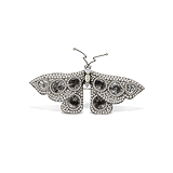 AN INTRICATE DIAMOND `BUTTERFLY` BROOCH -    - Auction of Fine Jewels & Watches