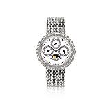 AUDEMARS PIGUET: MENS 18 K GOLD AND DIAMOND `QUANTIEME PERPETUEL` WRISTWATCH, NO. 008 -    - Auction of Fine Jewels & Watches