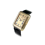 PIAGET: MENS 18 K GOLD WRISTWATCH -    - Auction of Fine Jewels & Watches