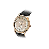 OMEGA: MENS ROSE GOLD `SEAMASTER` WRISTWATCH -    - Auction of Fine Jewels & Watches