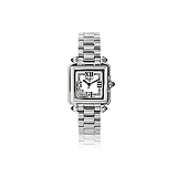 CHOPARD: LADIES `HAPPY SPORT` STAINLESS STEEL AND DIAMOND WRISTWATCH -    - Auction of Fine Jewels & Watches