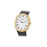 PATEK PHILIPPE: MENS 18 K GOLD `ELLIPSE` WRISTWATCH -    - Auction of Fine Jewels & Watches
