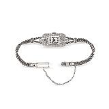 RAYMOND YARD: LADIES PLATINUM, 18 K GOLD AND DIAMOND WRISTWATCH -    - Auction of Fine Jewels & Watches