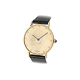 ROYCE: MENS 18 K GOLD WRISTWATCH -    - Auction of Fine Jewels & Watches