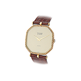 VAN CLEEF AND ARPELS MENS 18 K GOLD WRISTWATCH -    - Auction of Fine Jewels & Watches