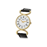 PIAGET: LADIES 18 K GOLD WRISTWATCH -    - Auction of Fine Jewels & Watches