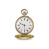 SWISS: 18 K GOLD DEMI-HUNTER POCKET WATCH -    - Auction of Fine Jewels & Watches