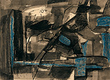 Untitled - Ram  Kumar - Spring Auction 2010