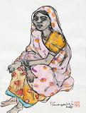 Untitled - A  Ramachandran - Summer Auction 2010