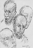 Untitled - Akbar  Padamsee - Words and Lines: 24-Hour Auction