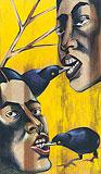 Forked - Anju  Dodiya - Autumn Auction 2011