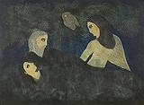 The Spirit of the Night - Badri  Narayan - Autumn Auction 2011