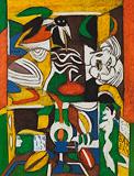 Untitled - K G Subramanyan - Autumn Auction 2011