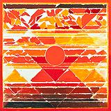 Fire - S H Raza - Autumn Auction 2011