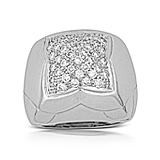 A DIAMOND 'PIRAMIDE' RING, BY BVLGARI -    - Auction of Fine Jewels & Watches
