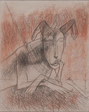 Untitled - Ganesh  Pyne - 99 Modern Paperworks
