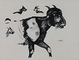 Untitled - K G Subramanyan - EDITIONS 24-Hour Auction