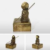 Man on Moon - Himmat  Shah - Sculpted: 24 Hour Auction