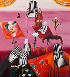 Figures and Flowers - Arpita  Singh - Spring Auction 2011