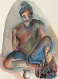 Untitled - Bhupen  Khakhar - Summer Art Auction