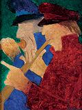 Study for Bandwallahs - Krishen  Khanna - Summer Art Auction