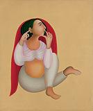 Nayika - Manjit  Bawa - Summer Art Auction