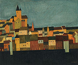 Carcassonne - S H Raza - Summer Art Auction