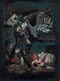 La Nuit - S H Raza - Summer Art Auction