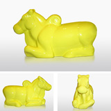 Nandi in Yellow - Arunkumar H G - 24-Hour Contemporary Auction