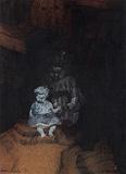 The Doll - Bikash  Bhattacharjee - Winter Online Auction