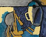 Untitled - M F Husain - Winter Online Auction