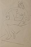 Untitled - Jehangir  Sabavala - Winter Online Auction