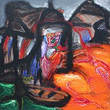 Landscape with a Boat - Manu  Parekh - 24-Hour Online Absolute Auction