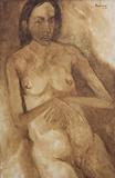 Untitled - Akbar  Padamsee - 24 Hour Absolute Auction