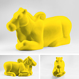 Nandi in Yellow - Arunkumar H G - 24 Hour Absolute Auction
