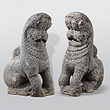 A Pair of Yalis - Indian Antiquities