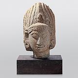Head -    - Indian Antiquities