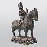 Horse and Rider -    - Indian Antiquities