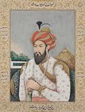 Portrait of Emperor Humayun -    - Indian Antiquities & Miniature Paintings