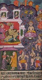 A Court Scene -    - Indian Antiquities & Miniature Paintings