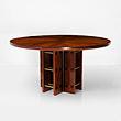 A CIRCULAR SINGLE PEDESTAL DINING TABLE - 24-Hour Online Auction: Art Deco