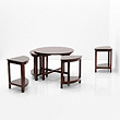A CIRCULAR COFFEE TABLE - 24-Hour Online Auction: Art Deco