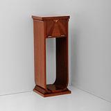 A TWO-TIER PEDESTAL -    - 24-Hour Online Auction: Art Deco