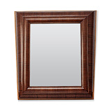A TRAPEZOID WALL MIRROR -    - 24-Hour Online Auction: Art Deco
