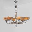 A SIX-LIGHT CHANDELIER - 24-Hour Online Auction: Art Deco