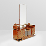 A DRESSING TABLE -    - 24-Hour Online Auction: Art Deco