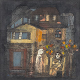 The Vision of the Devi and Child - Badri  Narayan - Autumn Art Auction