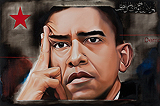 Obama in Delhi - Riyas  Komu - Autumn Art Auction